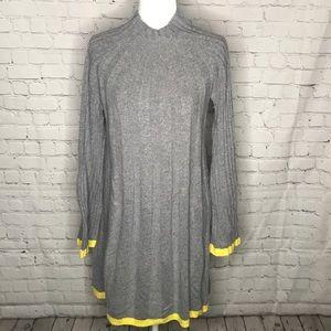 Anthropologie wool blend sweater dress